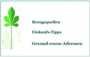 Bekannte Produkte aus dem Bio-Kräuter-Shop