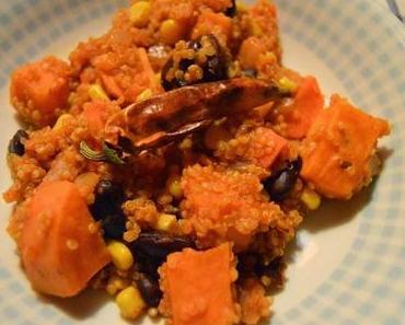 Veganes Quinoa-Süßkartoffel-Chili