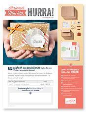 Neuer Monat - neues Stampin Up Angebot