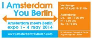 What´s On in Berlin: I AMsterdam, YOU BErlin