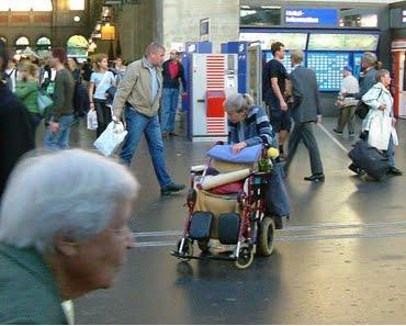 Ich wünsche mir mehr solche Menschen wie die Frau aus Zürich!