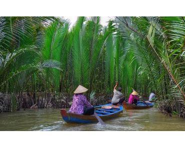 Bootsfahrt mit der Entdeckung des einzigartigen Mekong Flussdelta