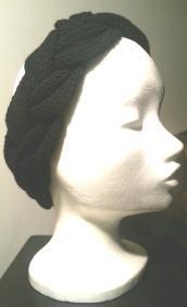 DIY Strickanleitung geflochtenenes Stirnband