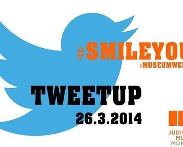 Meet and Tweet mit Sharone Lifschitz zu #smileyou