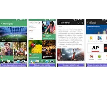 HTC sein Blinkfeed in den Appstore