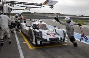 Saisonvorbereitung in der Schlussphase: Porsche 919 Hybrid in Paul Ricard