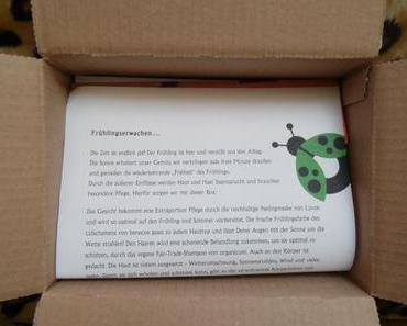 ausgepackt: Biobox Beauty & Care April 2014