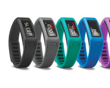 Stay active! Mit dem vivofit Fitness-Armband von GARMIN