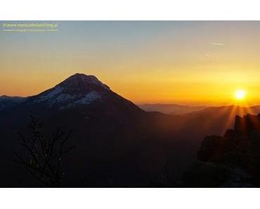 Serie: BILD der WOCHE – Sonnenuntergang am Hochstadelberg