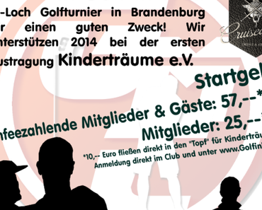 Golf meets Charity – die Turnierdaten
