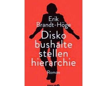 """""""Diskobushaltestellenhierarchie"""" von Erik Brandt-Höge"""