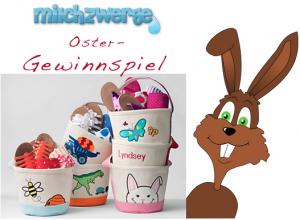 OSTER-SPEZIAL: Gewinnt eines von fünf bestickten Oster-Körbchen von Lands´ End