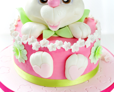 Pink Bunny Torte