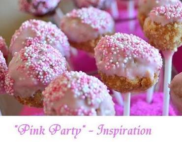Pink Party – Geburtstag einer Prinzessin :-)