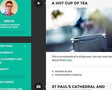 Die 10 besten kostenlosen WordPress Templates von Januar bis April 2014