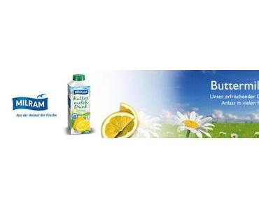 Die Friendstipps sucht 150 Tester, für die Milram Buttermilch Zitrone.