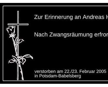 Erinnerung an Andreas H.