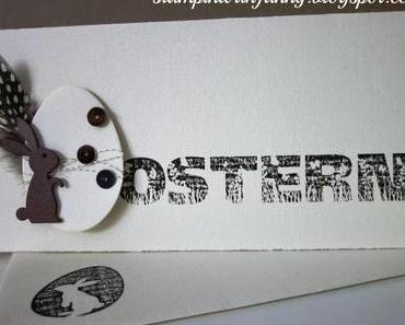 Osterkarte #5: (Fast) Ganz in Weiß