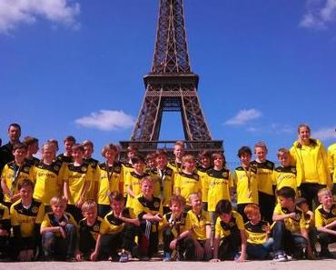 BVB auf Metropolentour: 2. AIDA Fußball-Kreuzfahrt mit Borussia Dortmunds Evonik-Fußballschule gestartet