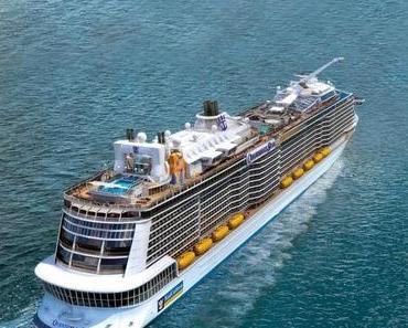 Quantum of the Seas von Royal Caribbean International fährt 2015 ab China