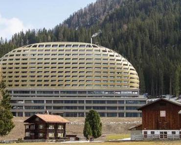InterContinental Davos – das alpine goldene Ei