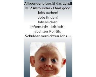 Allrounderjobs ! Jobs suchen ! Jobs finden ! Jobs klicken !