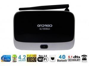 Test: HiSilikon T-R42 II Android TV BOX