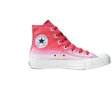 #Converse Schuhe All Star Chucks 110068 Rot Weiss Batik Design