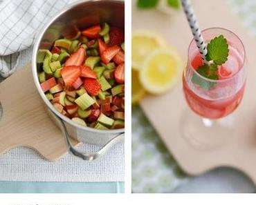 [BeerenHunger] Erdbeer-Rhabarber Sirup
