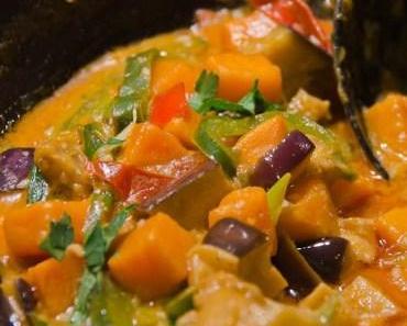 Veganismus – der neuste Ernährungsirrtum?! – Rezept für ein vegetarisches Süßkartoffel-Curry