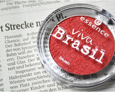 Ausprobiert – Essence Viva Brasil Blush Sao Paulo