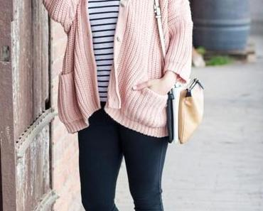 Outfit: Der Rosa Cardigan