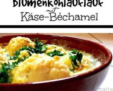 Blumenkohlauflauf mit Käse-Béchamel