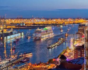 AIDA Cruises wieder Hauptsponsor zum Hamburger Hafengeburtstag..gleich 3 AIDA Schiffe werden erwartet!