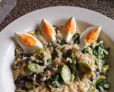 Risotto aus Camargue Reis - richtig gut!