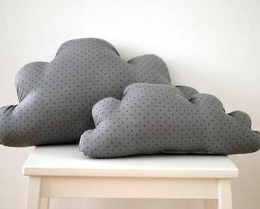 7 Tage 7 Kissen: Wolkenkissen für Groß und Klein