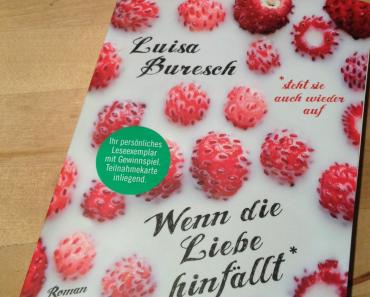 [Rezension] Wenn die Liebe hinfällt von Luisa Buresch