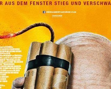 Review: DER HUNDERTJÄHRIGE, DER AUS DEM FENSTER STIEG UND VERSCHWAND – Ein Opa mischt die Geschichte auf