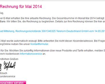 Achtung, Spam in der Inbox: Falsche Rechnungen per E-Mail von Telekom und Vodafone