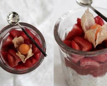 Milchreis mit Erdbeeren & Co.
