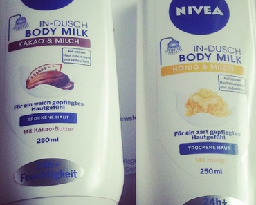 Nivea In-Dusch Body Milk Kakao & Honig