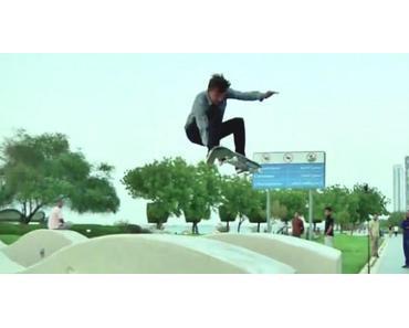 Titus Desert Trip: Skateboarding in Abu Dhabi
