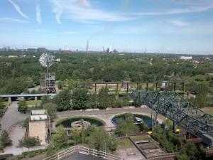 Grüner Ausflug in den Landschaftspark Duisburg Nord