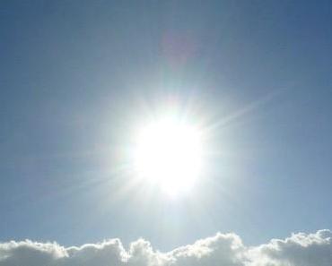 Die Sonne ist gesund und wichtig!