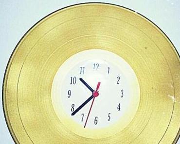 DIY Upcycling – Uhr aus Schallplatte!