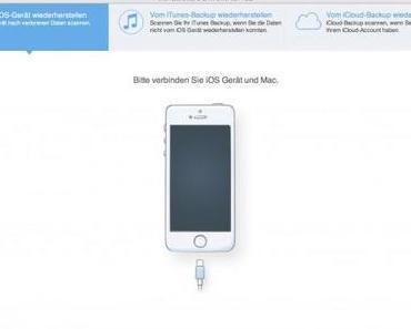 Review: iOS Datenrettung mit Wondershare Dr.Fone