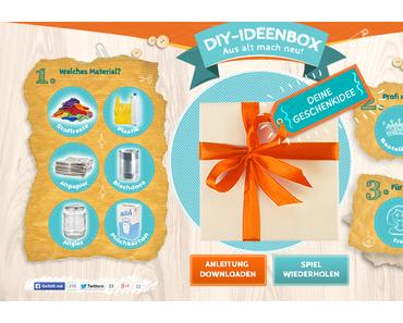 Aus alt mach neu: Die DIY-Geschenkideenbox