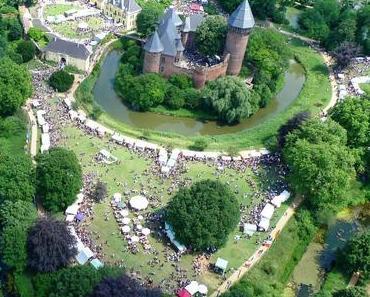 Der Flachsmarkt 2014 um Burg Linn
