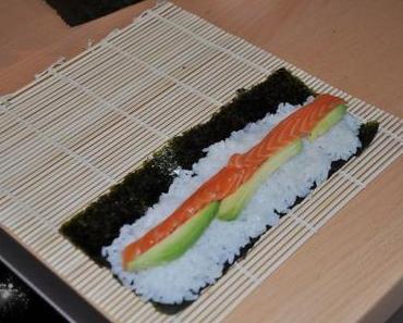 // [Essen] Mein erstes selbstgemachtes Sushi