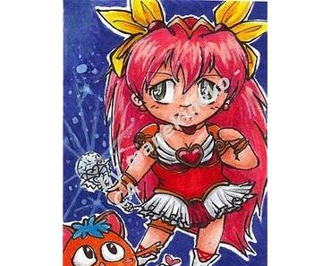 °.: Drawing - Kakao Wedding Peach :.°